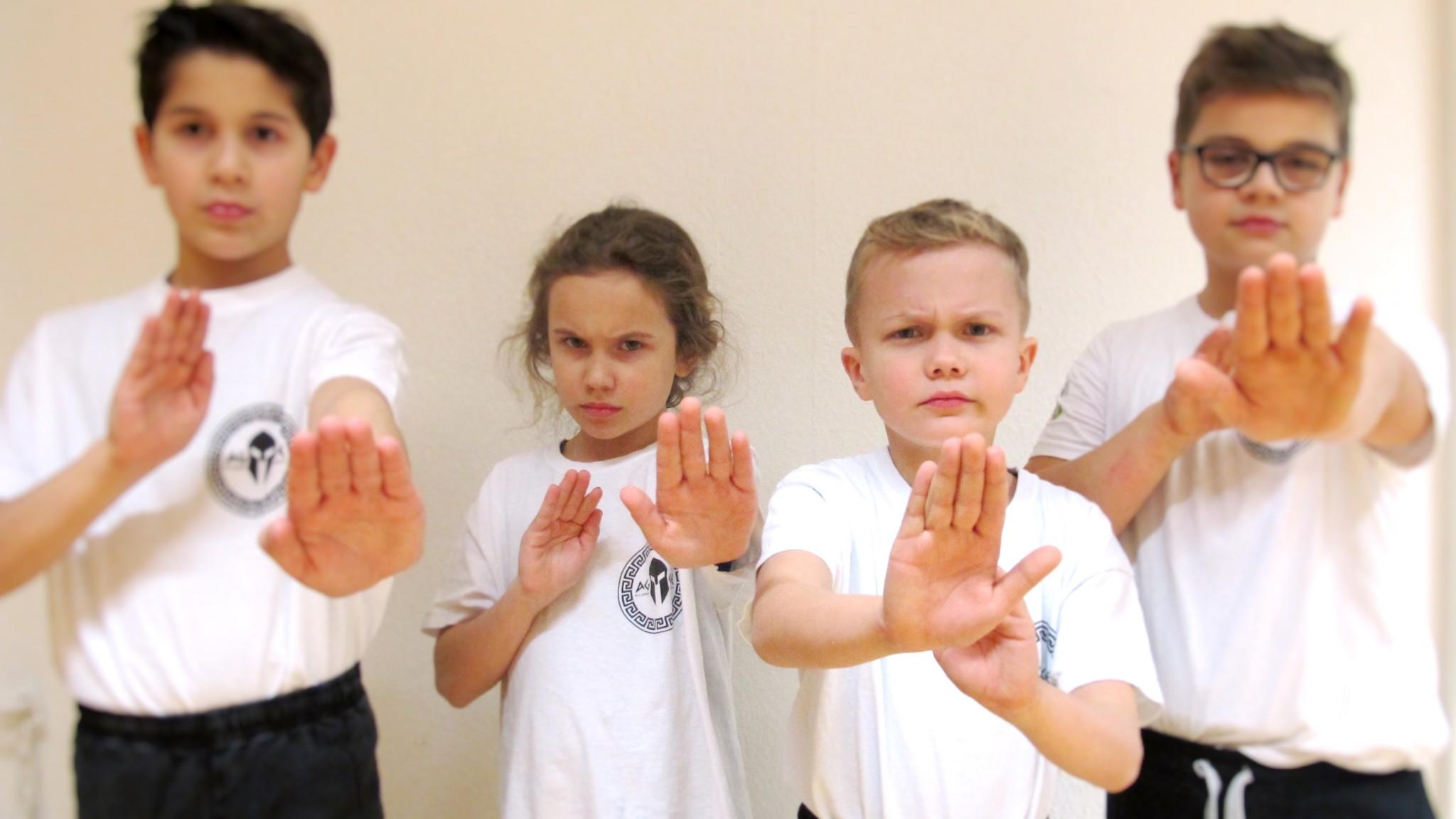 Selbstverteidigung Kung Fu Kinder