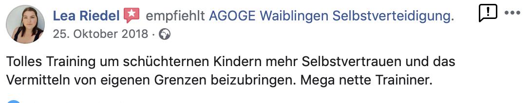 Selbstverteidigung Waiblingen Wing Chun