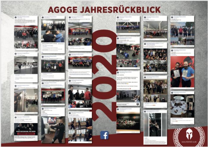 AGOGE Selbstverteidigung Jahresrückblick 2020