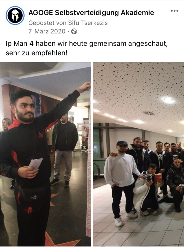 AGOGE Selbstverteidigung in Stuttgart Ufa Palast KINO