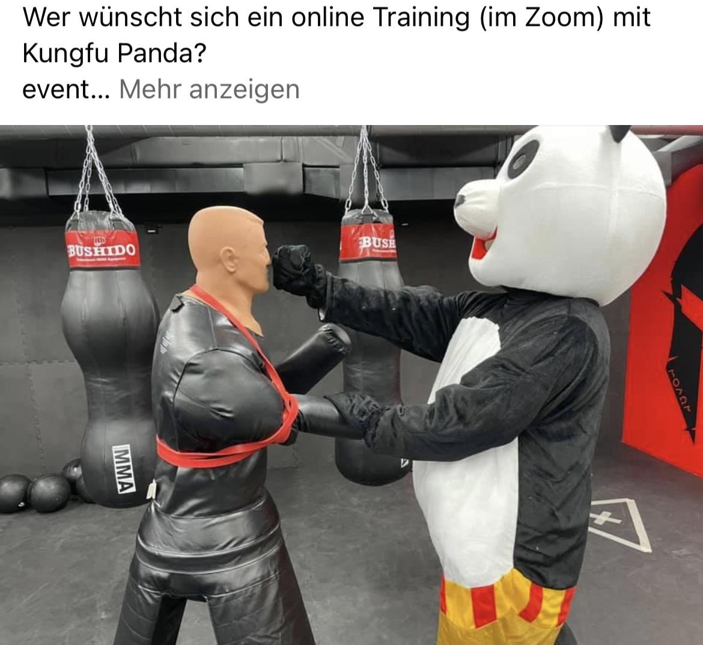 Kung Fu Panda Kinder Selbstverteidigung